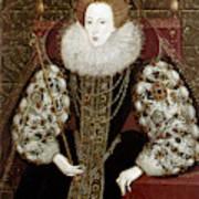 Queen Elizabeth I (1533-1603) Poster