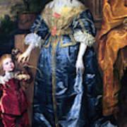 Queen Henrietta Maria (1609-69) Poster