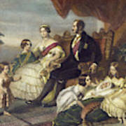 Queen Victoria & Family Poster