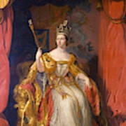 Queen Victoria Of England (1819-1901) Poster