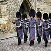 Queens Guard Poster by Heather Applegate