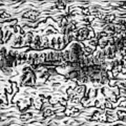 Queiros Voyages, 1613 Poster