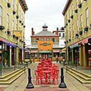 Quiet Day at Findlay Market Poster