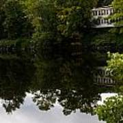 Quiet Lake In The Berkshires Poster