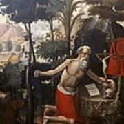 Quispe Tito, Diego 1611-1681. Saint Poster