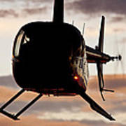 R44 At Sunset Poster