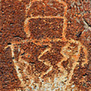 Shaman Petroglyph C Poster