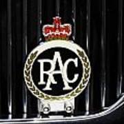 Royal Automobile Club Badge, Victoria Poster