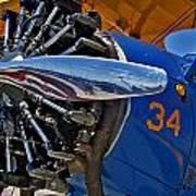 Radial Engine Poster