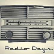 Radio Days Poster by Edward Fielding