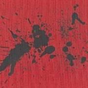 Rage Drip Art Poster