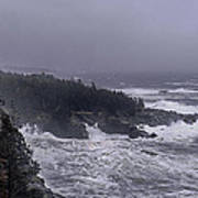Raging Fury At Quoddy Poster