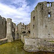 Raglan Castle - 4 Poster