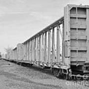 Rail Cars Poster