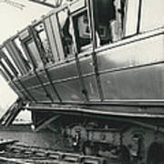 Rail Crash At Bethnal Green Four Coaches Derailed And Poster