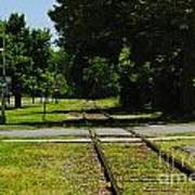 Rail Crossing Poster