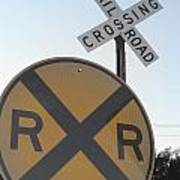 Rail Road Crossing Poster
