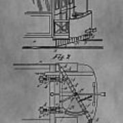 Railcar Fender Poster