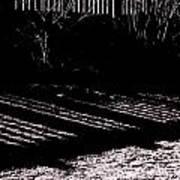 Railing Shadow Poster