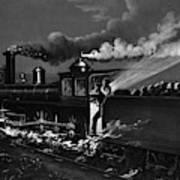 Railroad Danger Signal Poster