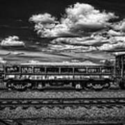 Railroad Gravel Car Poster