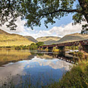 Railway Viaduct Over River Orchy Poster
