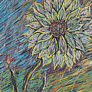 Rain Flower Poster