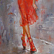 Rain In Manhattan Poster