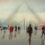 Rain In Paris Poster