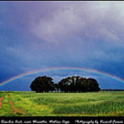 Rainbow Arch Near Worcester Poster
