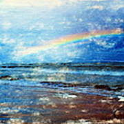 Rainbow At Skagen Poster