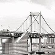 Rainbow Bridge In Tokyo Poster