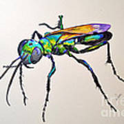 Rainbow Insect Poster