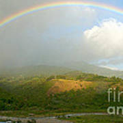 Rainbow Over Boquete Poster