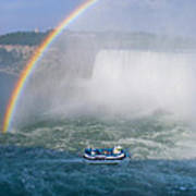 Rainbow Over Niagara. Poster