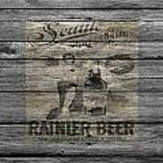 Rainier Beer Poster