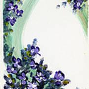 Raining Violets Poster