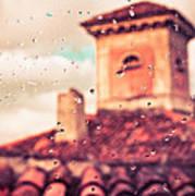 Rainy Day In Italy Poster