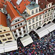 Rainy Day In Prague-2 Poster