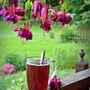 Rainy Day Tea Poster