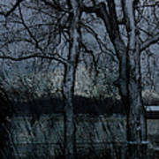 Rainy Days And Mondays- Feature-barns Big And Small-visions Of The Night-photography And Textures Poster