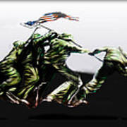 Raising Of Old Glory Poster