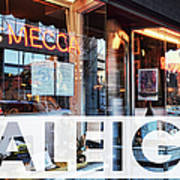 Raleigh At The Mecca Poster