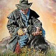 Ranch Hand Friends Poster