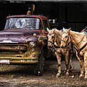 Ranch Transportation Poster