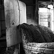 Ranchers House Black And White II Poster