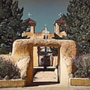 Ranchos Gate In Gum Bichromate Poster