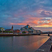 Rare Irish Sunset Poster