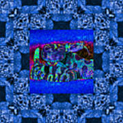 Rattlesnake Abstract Window 20130204m180 Poster