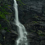 Rauma County Waterfall Poster